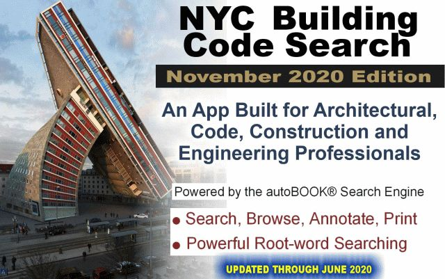 NYLP Catalog: Building Code Search® - NYC Building Code